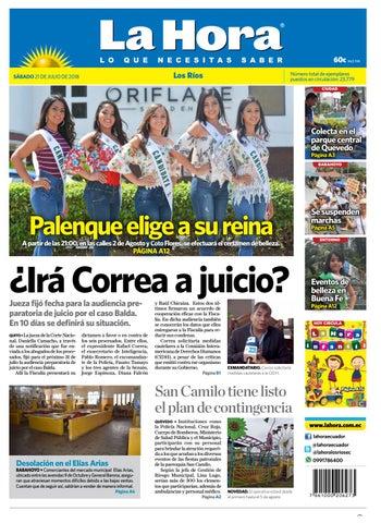 0a3f1b9dc1e4 Los Ríos 21 de julio de 2018 by Diario La Hora Ecuador - issuu