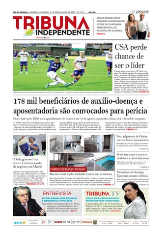 7c32541105b Edição número 3191 - 21 e 22 de julho de 2018 by Tribuna Hoje - issuu