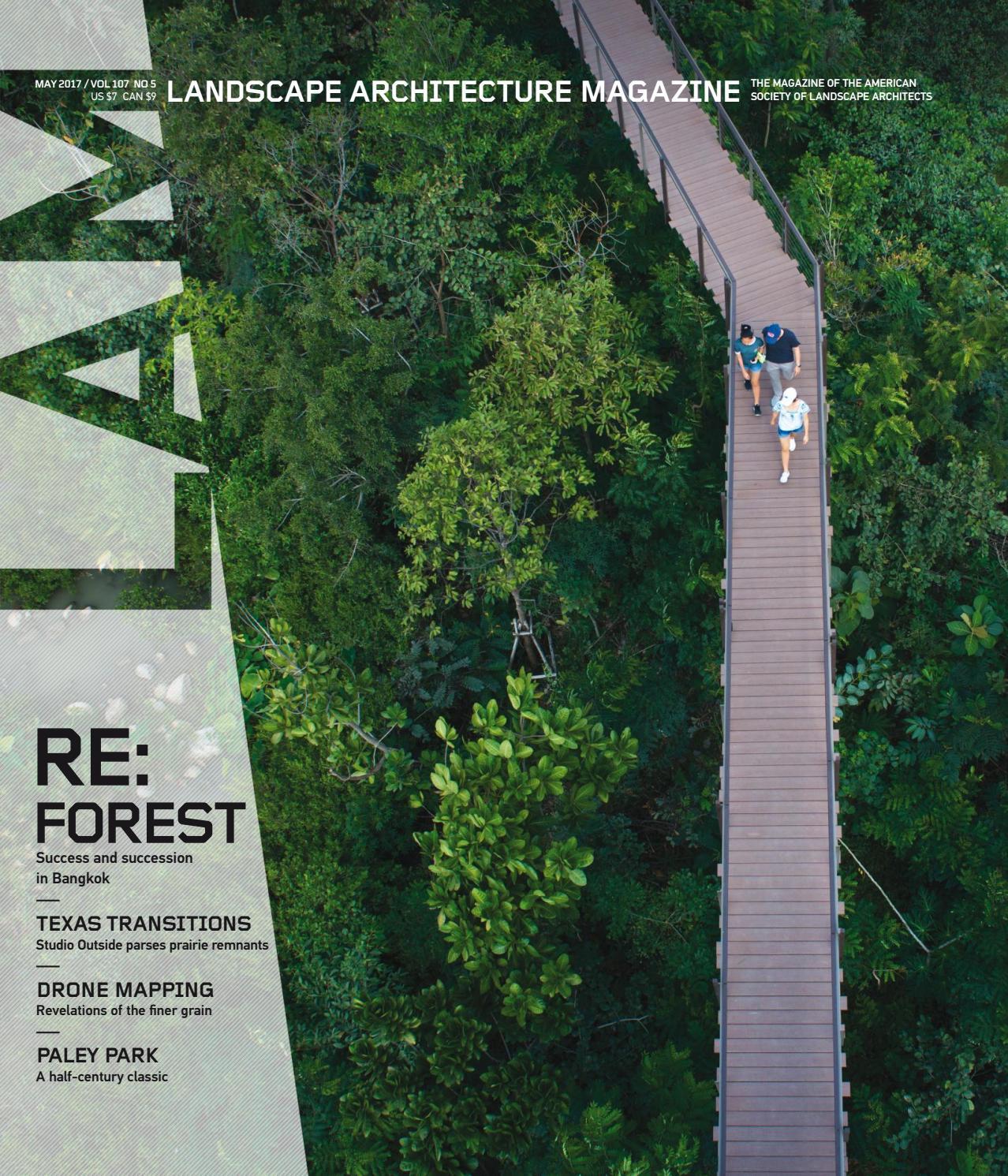 Landscape Architecture Magazine LAM-2017-may by KiếnTrúc • Online