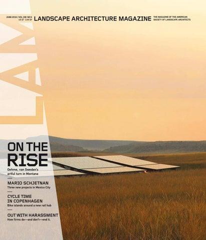 Landscape Architecture Magazine LAM-2018-june by KiếnTrúc • Online