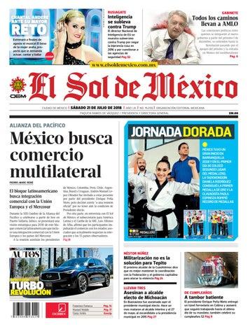 711200f6fd El Sol de México 21 de julio de 2018 by El Sol de México - issuu