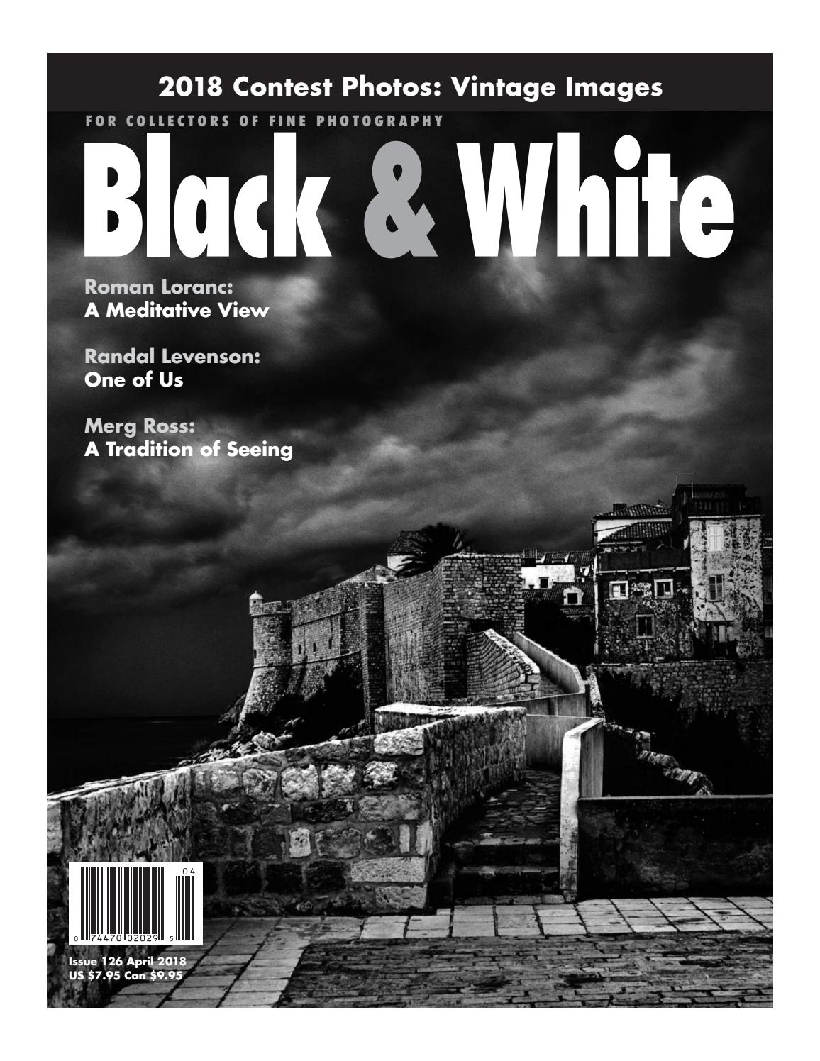 Black And White Photography April 2018