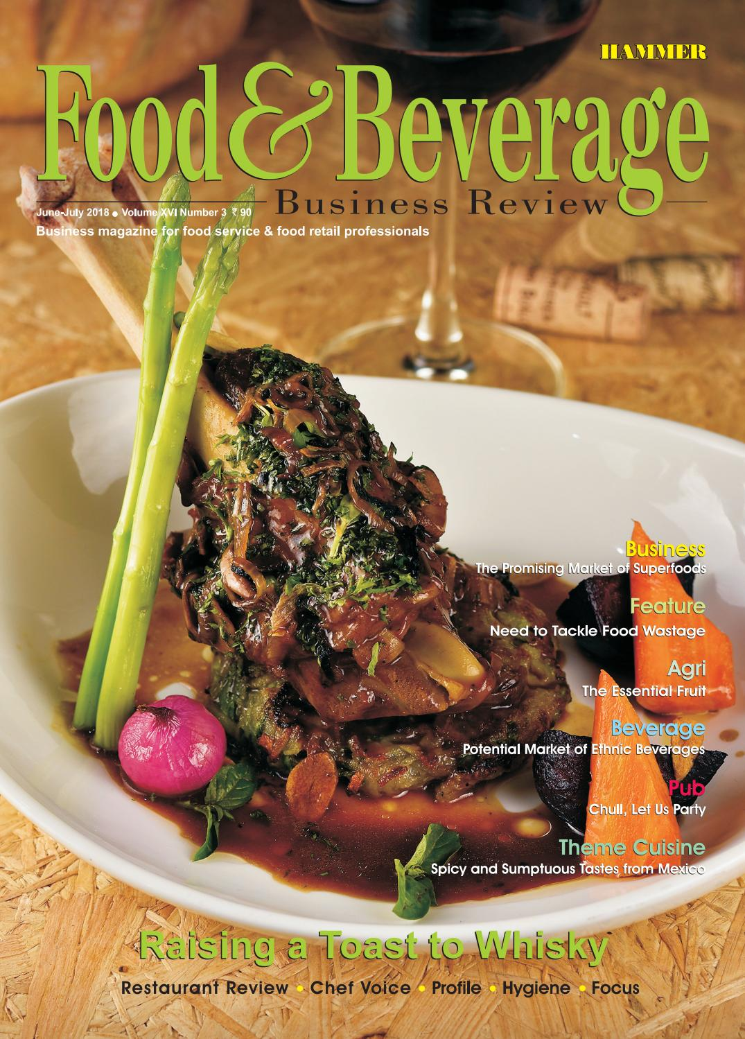 Food & Beverage Business Review ( Jun-July 2018) by Food