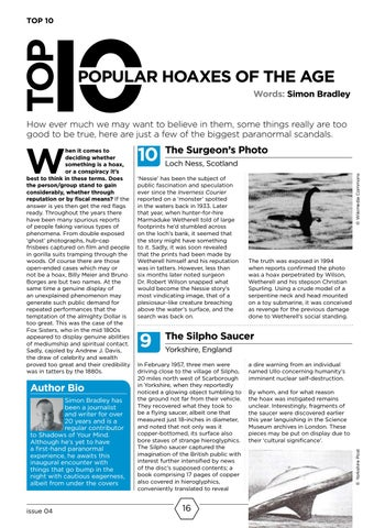 Page 16 of Top 10 Hoaxes