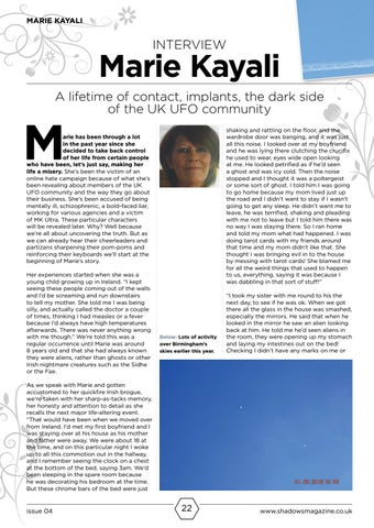 Page 22 of Marie Kayali interview
