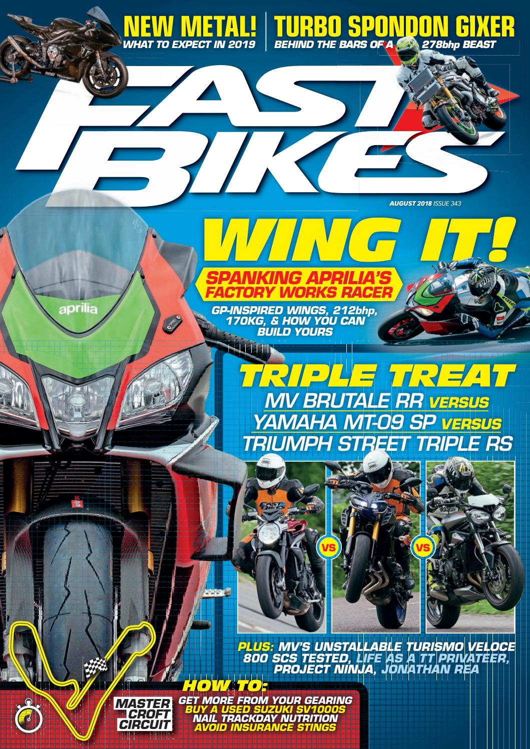 ce0d92fb0e Fast Bikes - August 2018 - Issue 343 by Mortons Media Group Ltd - issuu