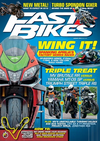 d29274c46e3 Fast Bikes - August 2018 - Issue 343 by Mortons Media Group Ltd - issuu