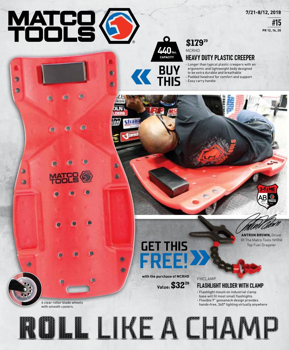 Matco Tools Flyer #15 by Dean Austin - issuu