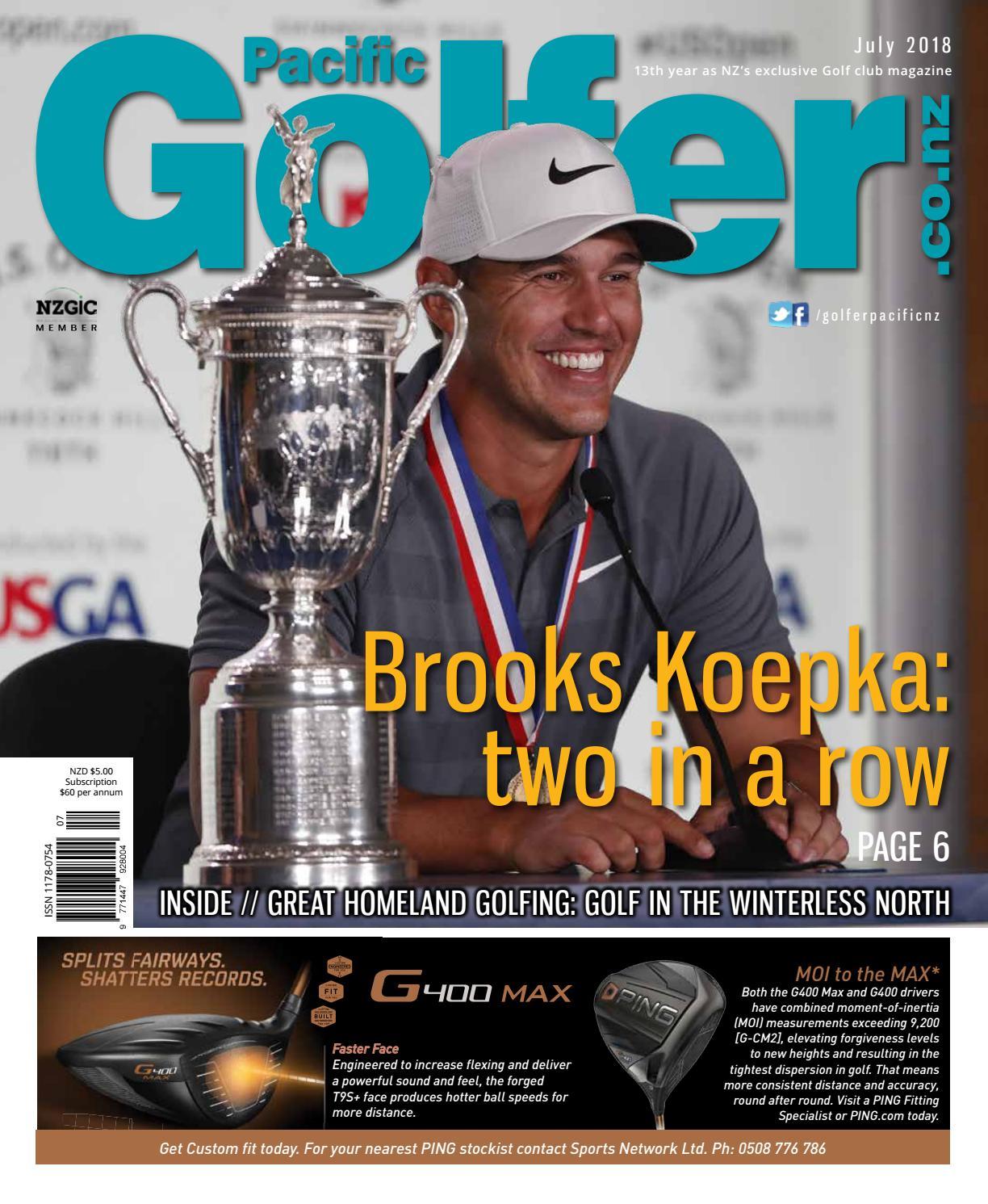 0a63fe7f612e Golfer Pacific NZ - July 2018 by Golfer Pacific NZ - issuu