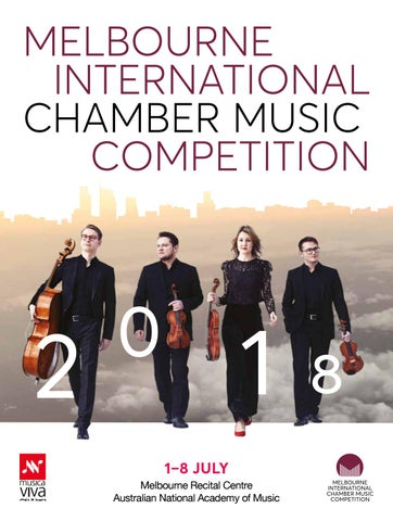2018 Melbourne International Chamber Music Competition