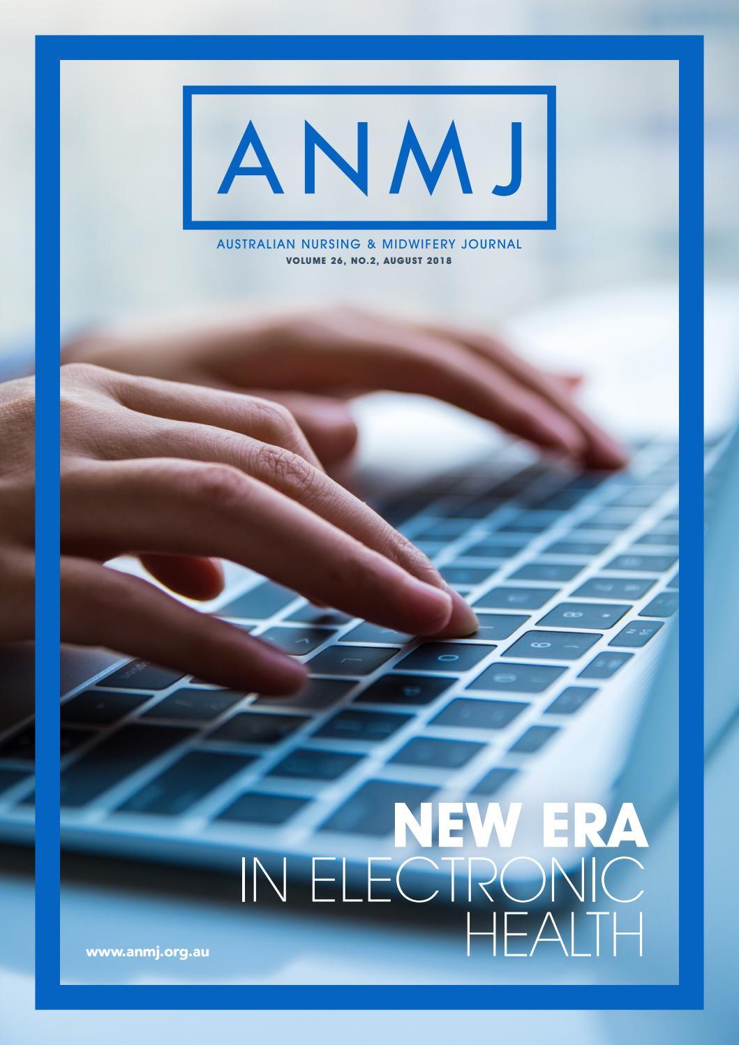 Anmj August 2018 By Australian Nursing Midwifery Journal Issuu Tas Nurse Kit