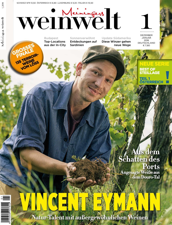 Meiningers Weinwelt Ausgabe 01 2018 By Meininger Verlag Gmbh Issuu