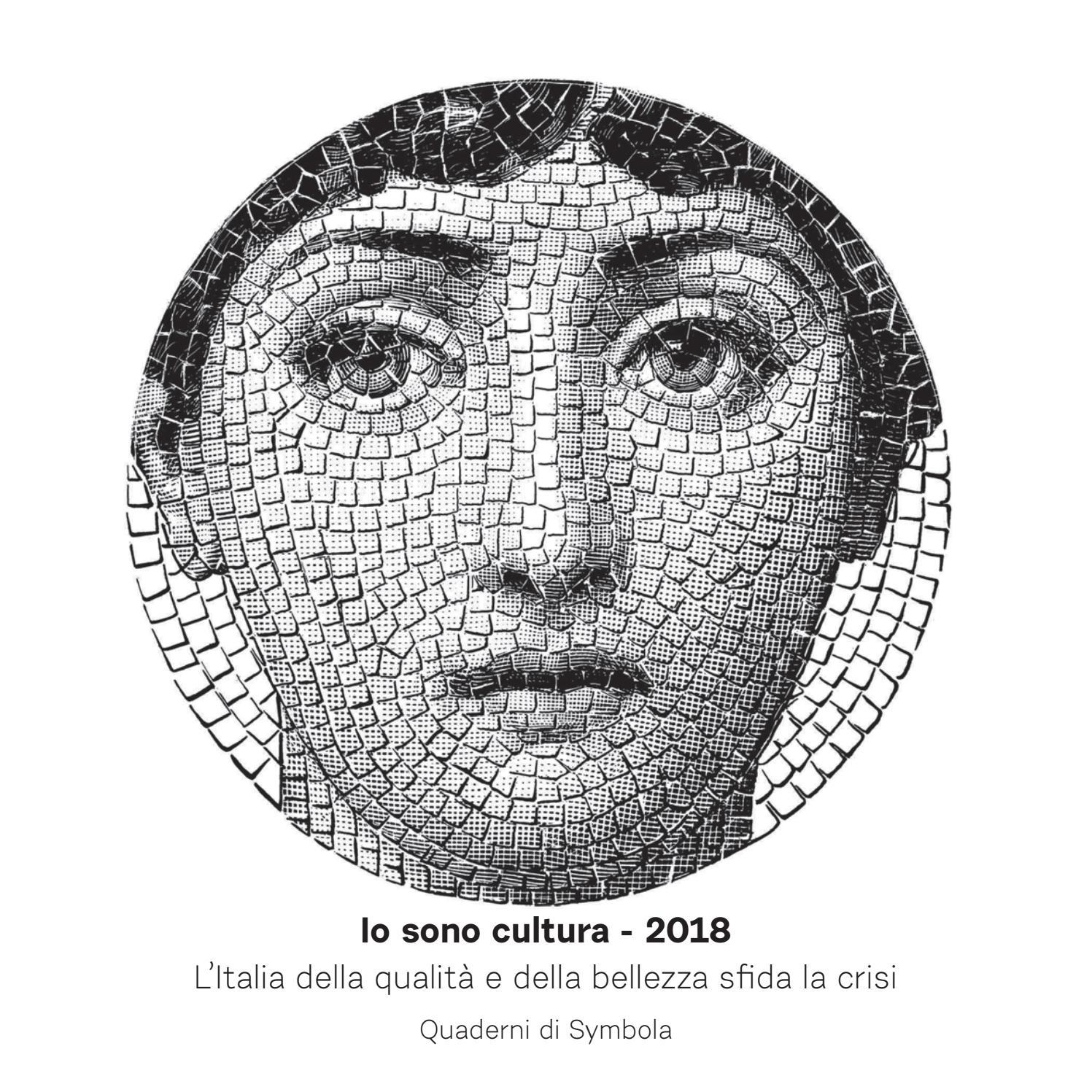 0d0e72e8cfb1 Io Sono Cultura 2018 - L Italia della qualità e della bellezza sfida la  crisi by Fondazione Symbola - issuu