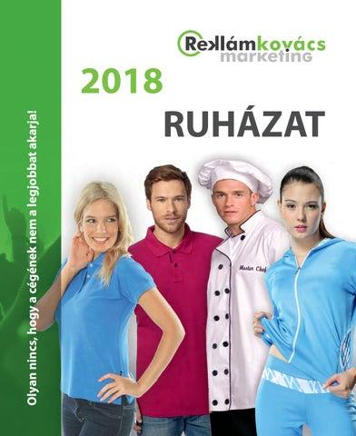 Reklámkovács - Ruházat 2018 by Reklámkovács Marketing - issuu f363185f4c