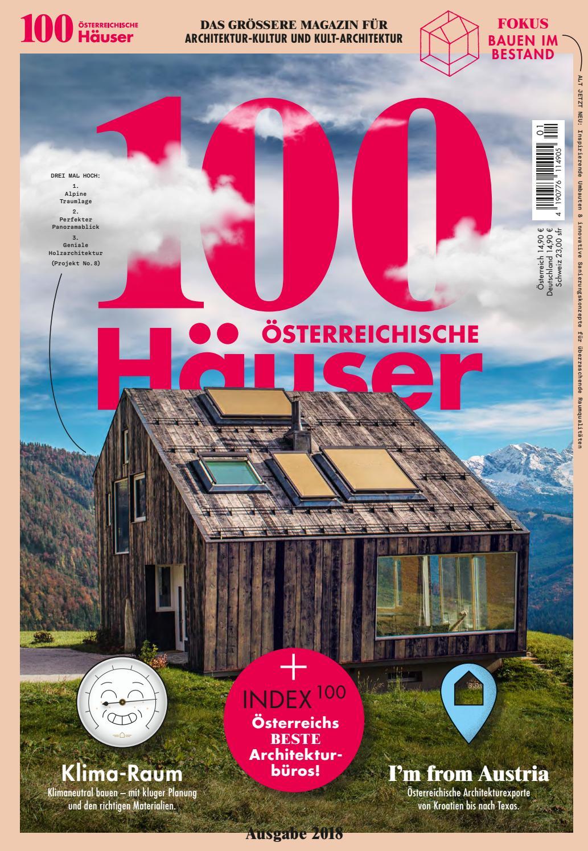100 österreichische Häuser 2018 By 100 Deutsche Häuser   Issuu