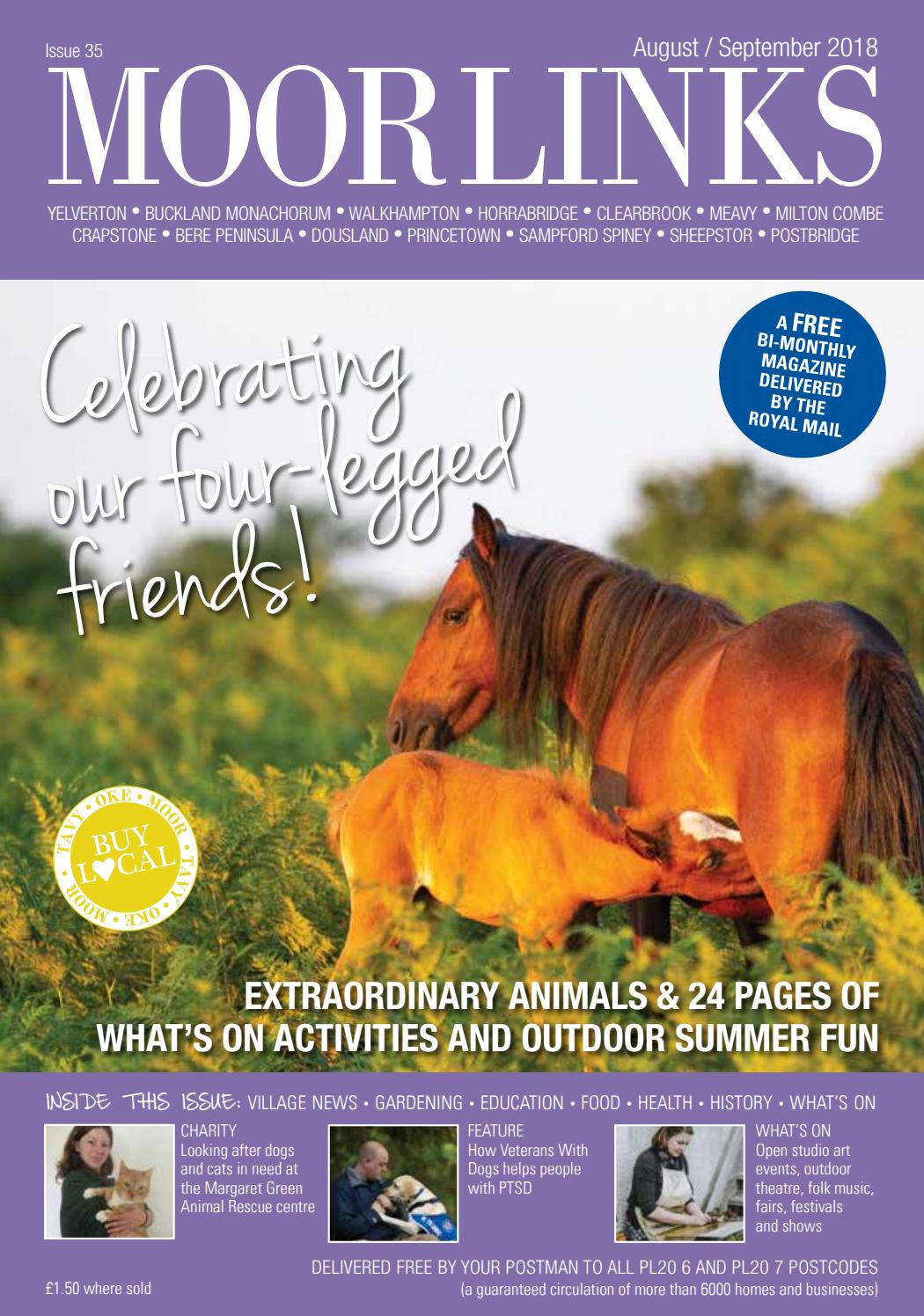 Moor Links August/September 2018 issue by Links Magazines