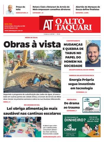 e39fa5e073 Jornal O Alto Taquari - 13 de julho de 2018 by Jornal O Alto Taquari ...