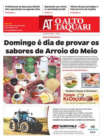 Jornal O Alto Taquari - 20 de julho de 2018 by Jornal O Alto Taquari ... 485b95571ea0d