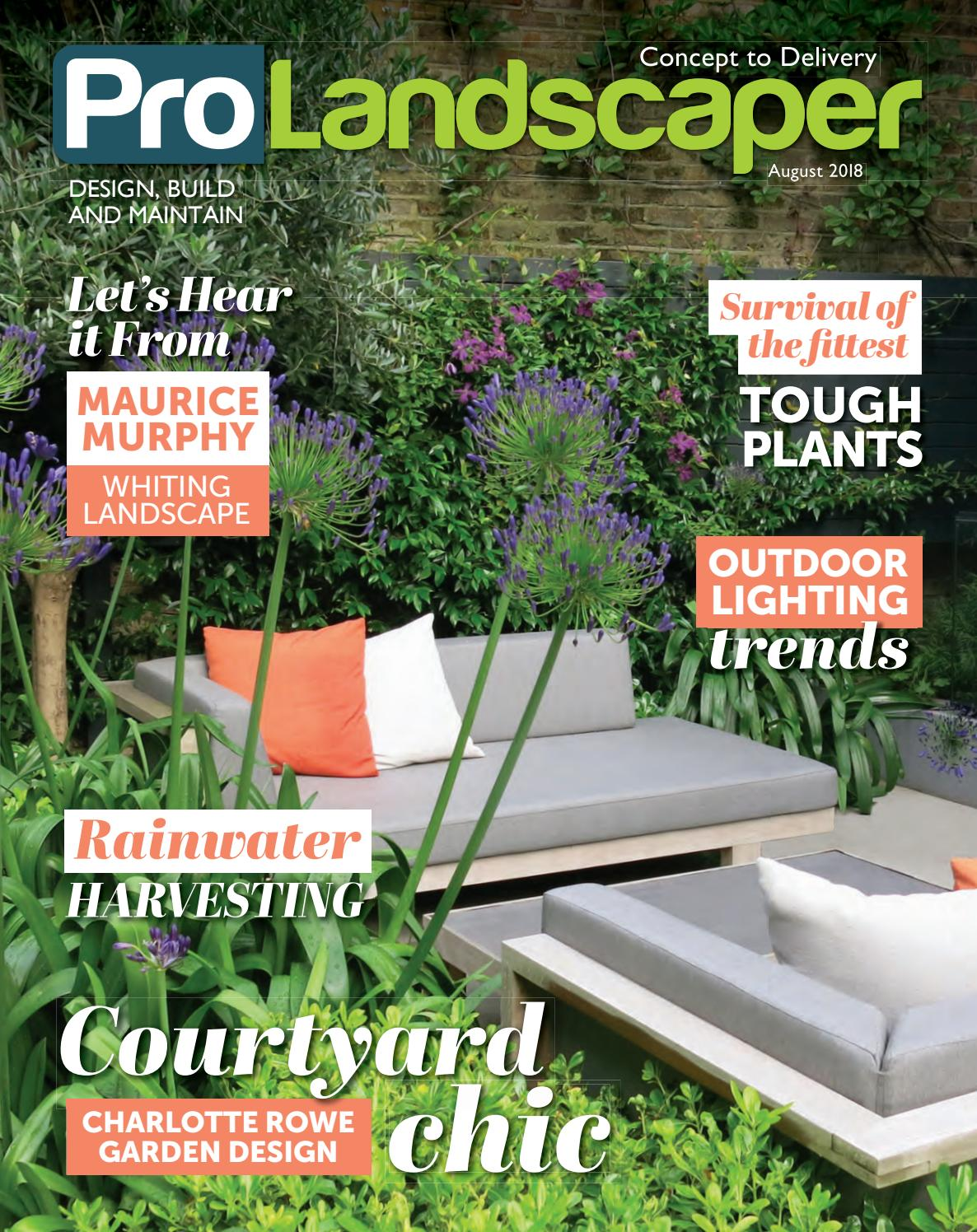 Pro Landscaper August 2018 By Eljays44 Issuu