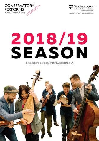Conservatory Performs 2018/19 Season Brochure by Shenandoah