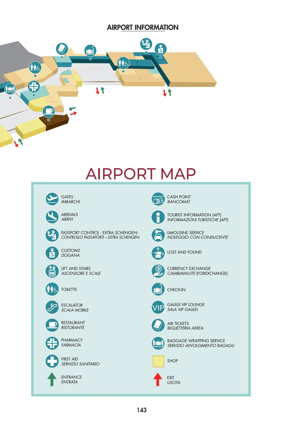 Pisa Airport Guide - Summer 2018 by Gruppo Editoriale srl ...