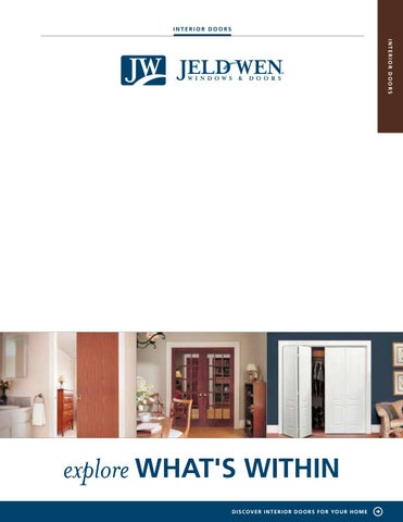 Jeld Wen Interior Doors Brochure By Cansave Barrie Issuu