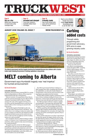 Truck West August 2018 by Annex Business Media - issuu