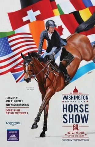 2018 Washington International Horse Show Prize List By Washington