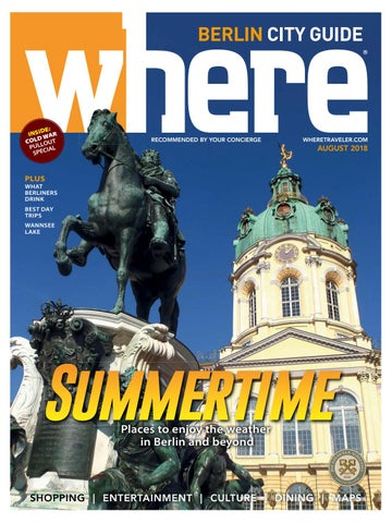 Where Magazine Berlin Aug 2018 By Morris Media Network Issuu