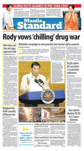 Manila Standard - 2018 July 24 - Tuesday by Manila Standard - issuu