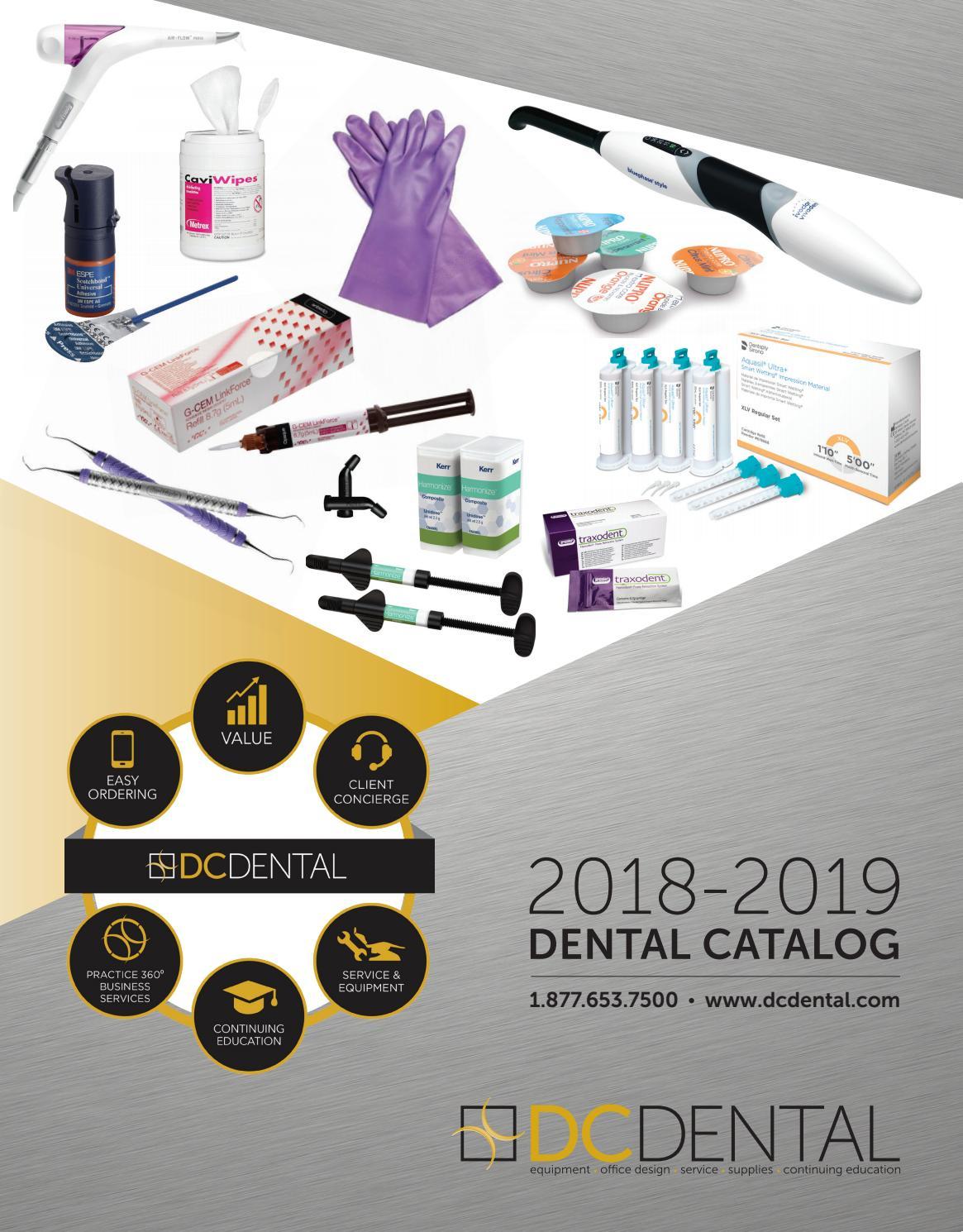 f9c90d788ce31 DC Dental Catalog 2018-2019 by DC Dental - issuu