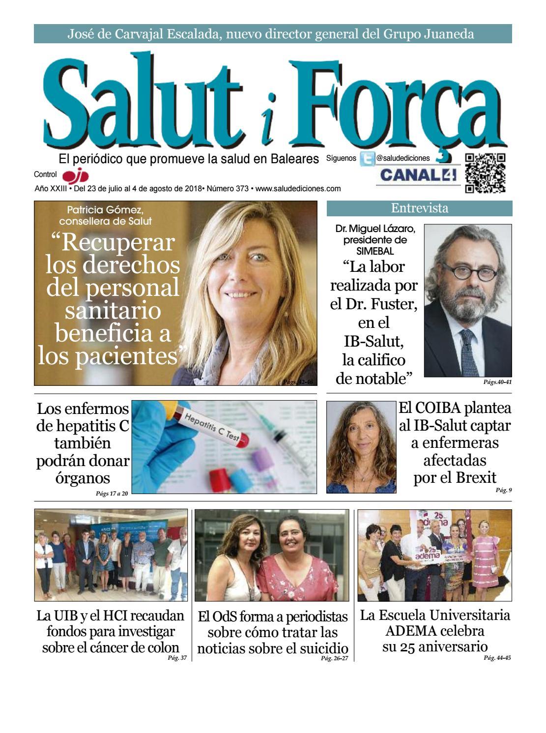 373 Salut i Força Baleares by Salud Ediciones - issuu
