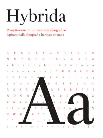Hybrida by Riccardo La Leggia - issuu 97075138911