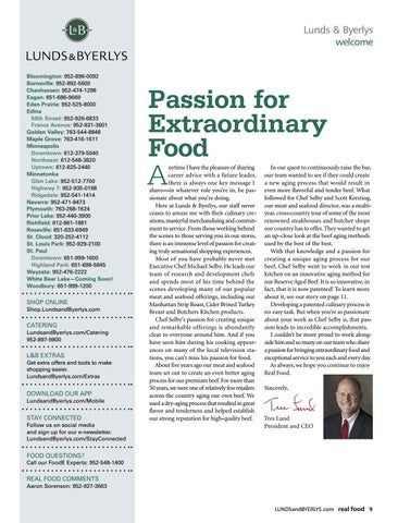 Page 11 of Passion for Extraordinary Food