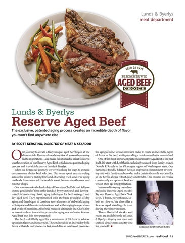 Page 13 of Lunds & Byerlys Reserve Aged Beef