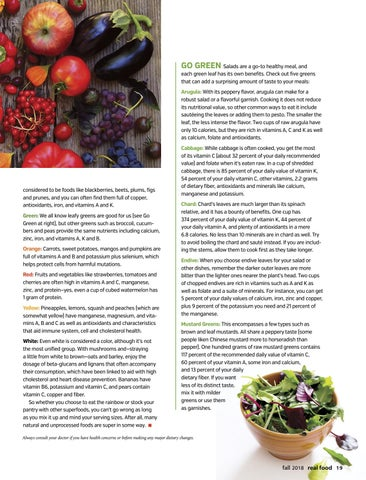Page 21 of A Super Food Spectrum