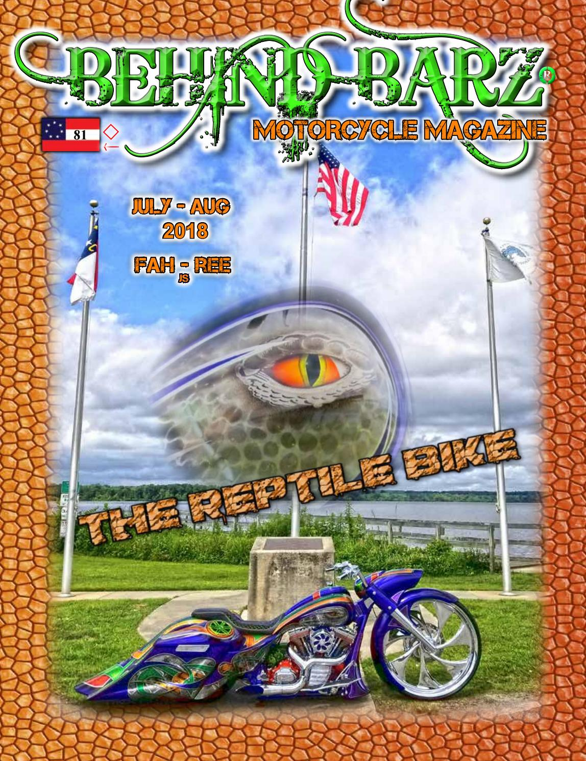 American Pickers Pikeville Nc behind barz motorcycle mag july 2018behind barz