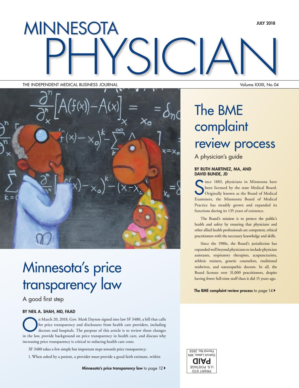 Minnesota Physician July 2018 by Minnesota Physician