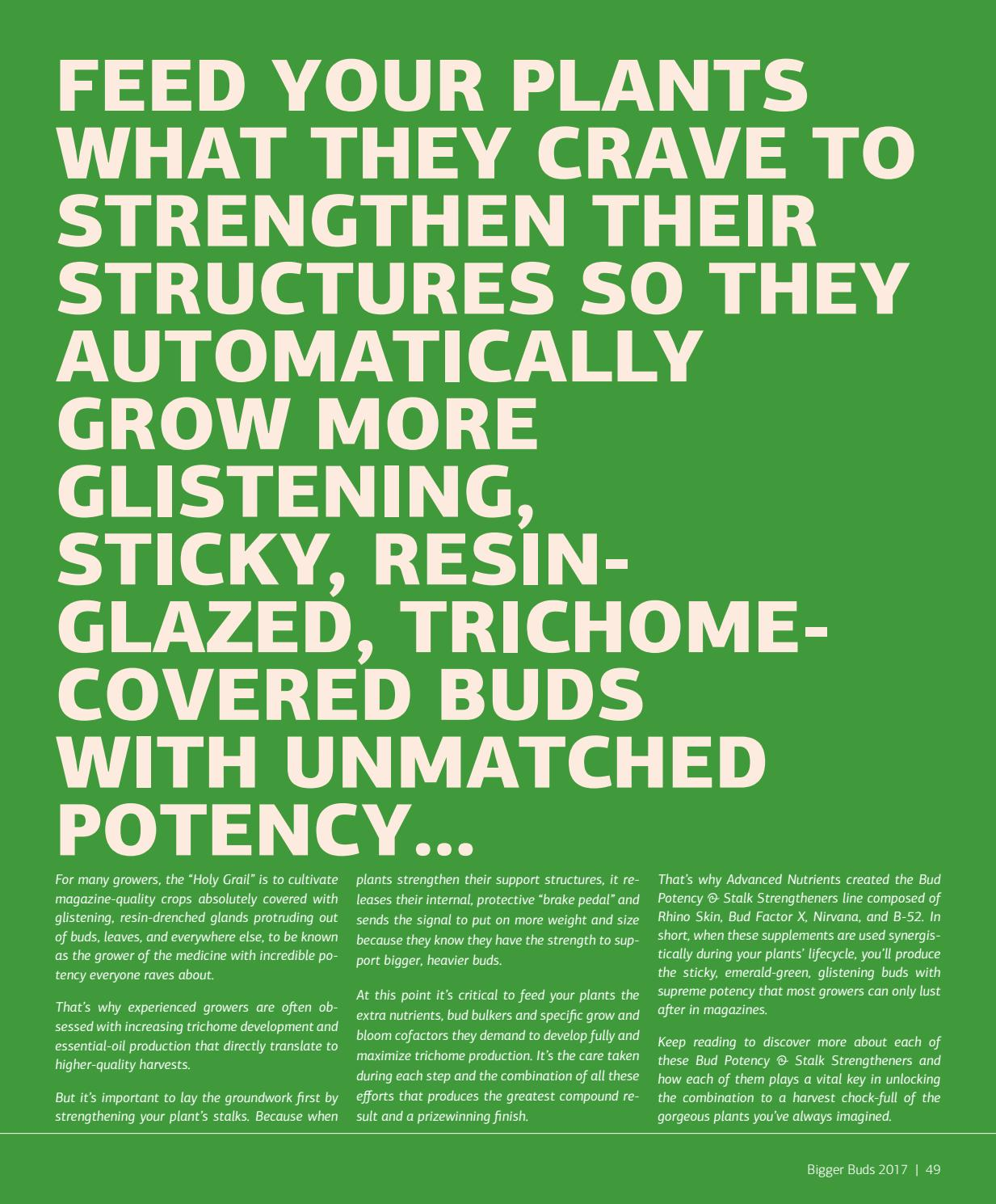 Advanced Nutrients Magalog 2017 by AdvancedNutrients - issuu