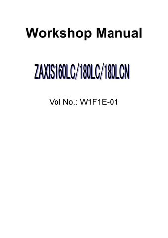 HITACHI ZAXIS 160LC EXCAVATOR Service Repair Manual by 163633 - issuu