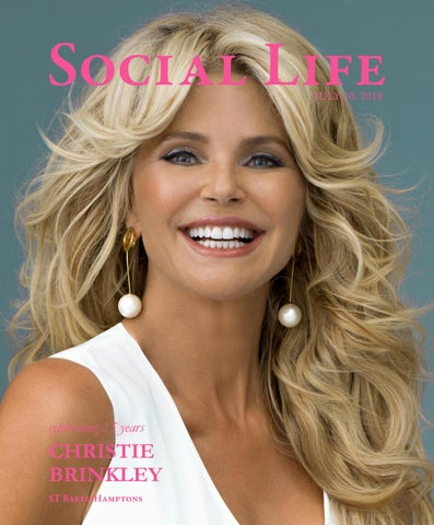 43e9a4d1c28 Social Life - July 20 2018 - Christie Brinkley by Social Life ...
