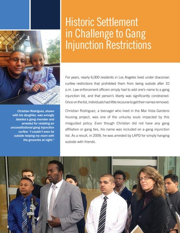 Page 10 of Historic Settlement in Challenge to Gang Injunction Restrictions