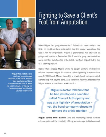Page 16 of Fighting to Save a Client's Foot from Amputation