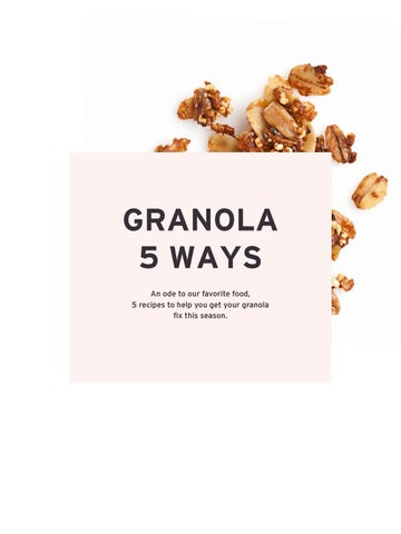 Page 25 of Granola 5 Ways