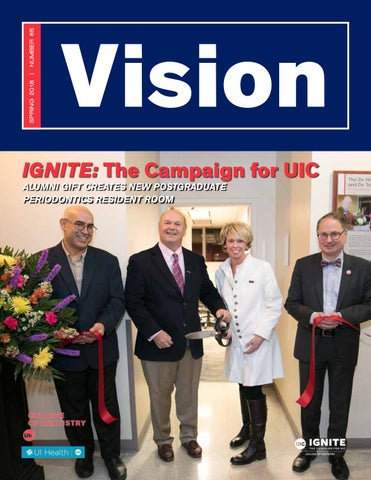 Vision Spring 2018 Uic College Of Dentistry By Uic College Of