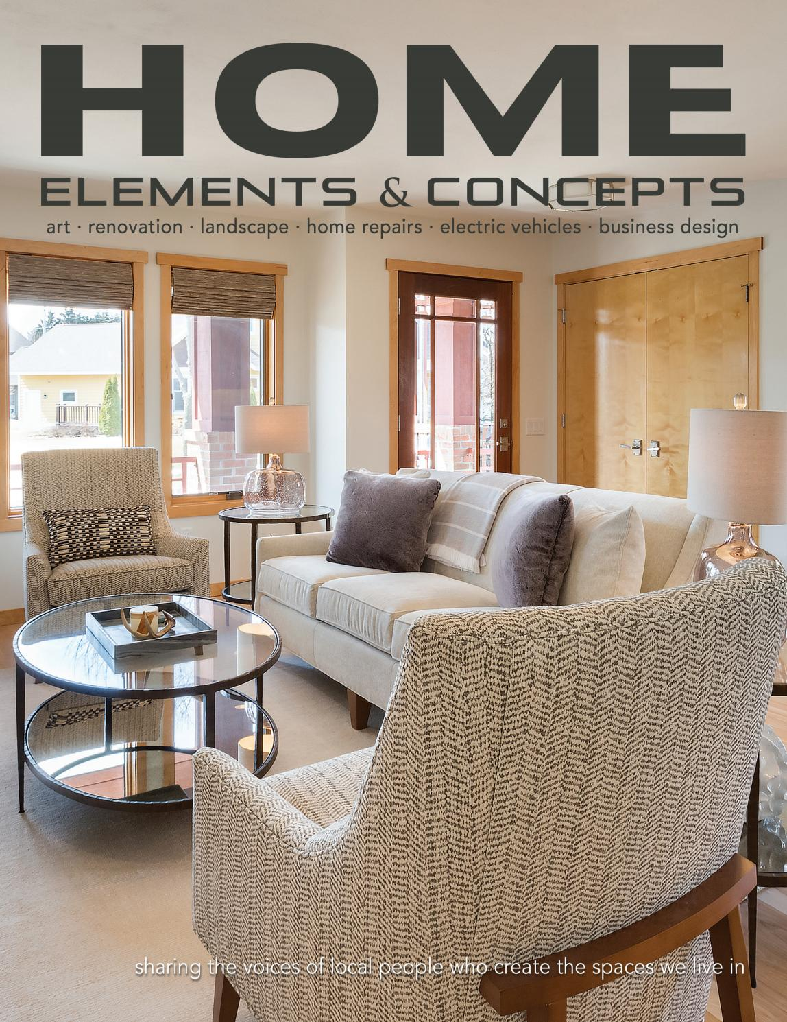 Home Elements Concepts August October 2018 By Towns Associates Issuu