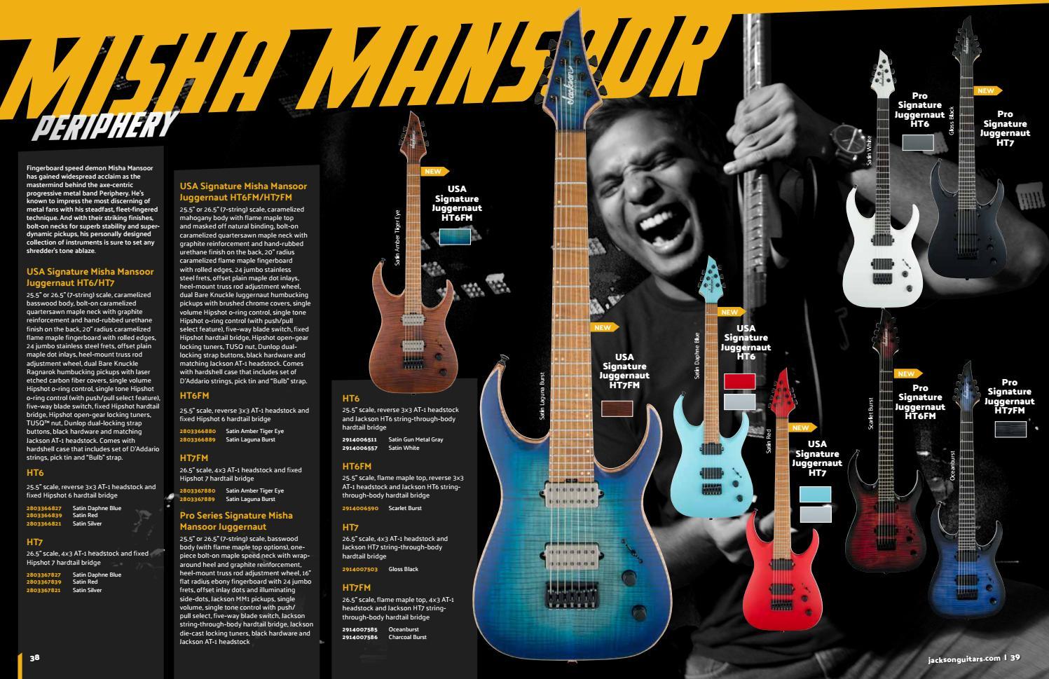 Jackson Catalog 2018 by Jackson Guitars - issuu