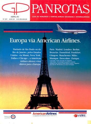 c79f863085 Guia PANROTAS - Edição 241 - Abril/1993 by PANROTAS Editora - issuu