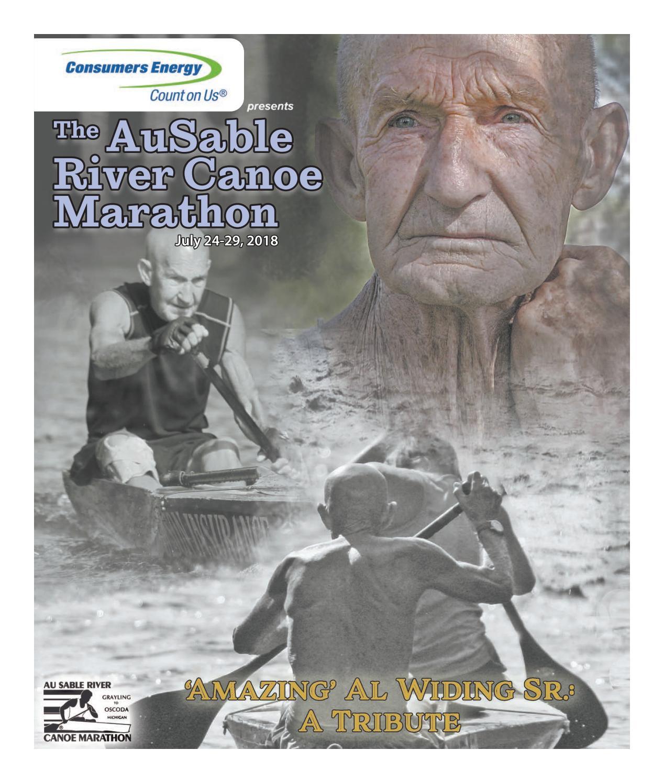2018 Program Book - AuSable River Canoe Marathon