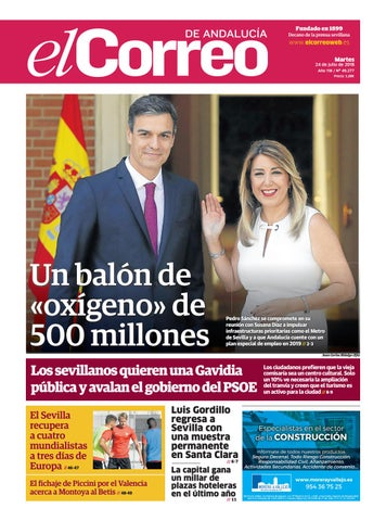 847dcd4738 24.07.2018 El Correo de Andalucía by EL CORREO DE ANDALUCÍA S.L. - issuu